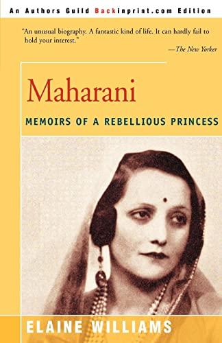 Maharani By Elaine Williams