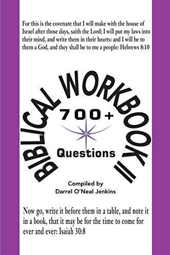 Biblical Workbook II By Darrel O Jenkins