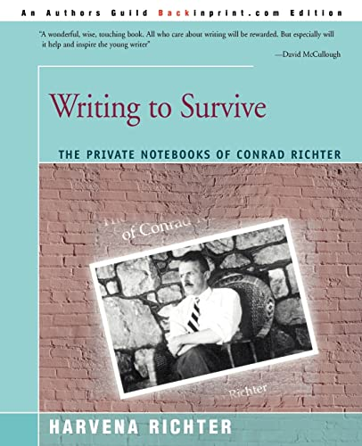 Writing to Survive By Harvena Richter