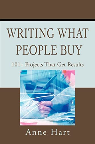 Writing What People Buy By Anne Hart