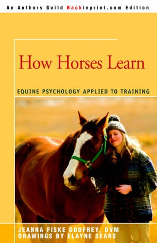 How Horses Learn By Jeanna C Fiske