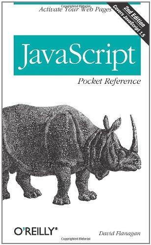 JavaScript Pocket Reference By David Flanagan