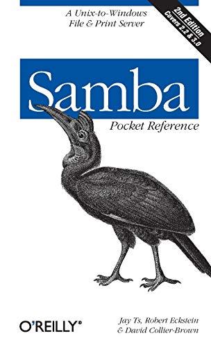 Samba Pocket Reference By Robert Eckstein