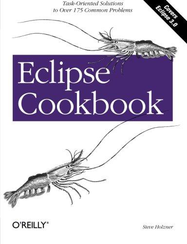 Eclipse Cookbook By Steve Holzner