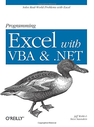Programming Excel with VBA and .NET By J. Webb