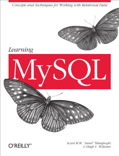 Learning MySQL By Hugh E. Williams