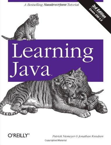 Learning Java by Patrick Niemeyer