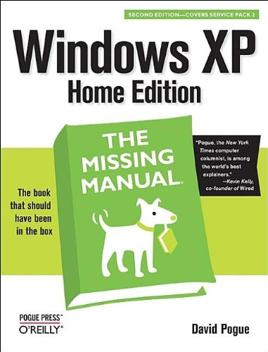 Windows XP Home Edition By David Pogue
