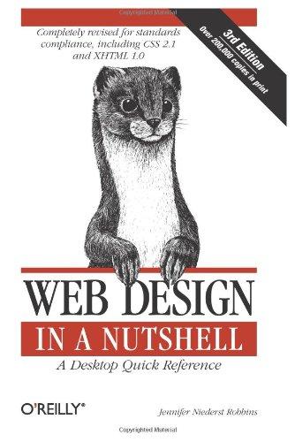 Web Design in a Nutshell (A Desktop Quick Reference) By Jennifer Niederst