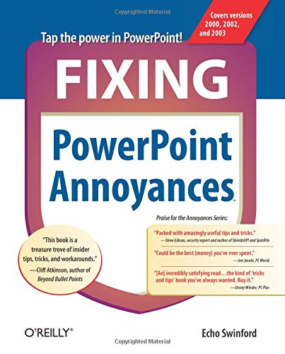 Fixing PowerPoint Annoyances By Echo Swinford