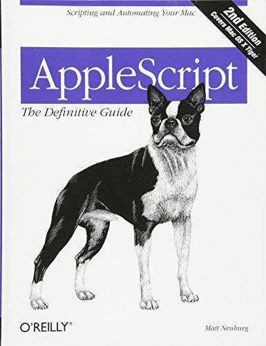 AppleScript By Matt Neuberg