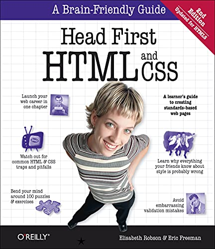 Head First HTML and CSS By Elisabeth Robson
