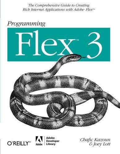 Programming Flex 3 By Chafic Kazoun