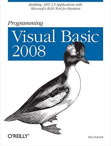 Programming Visual Basic By Tim Patrick