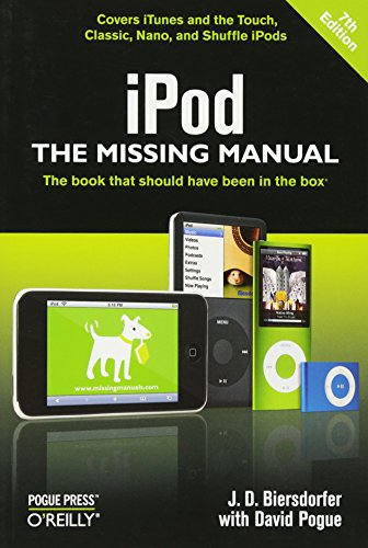 iPod: The Missing Manual By Jude Biersdorfer