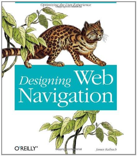 Designing Web Navigation By Jim Kalbach
