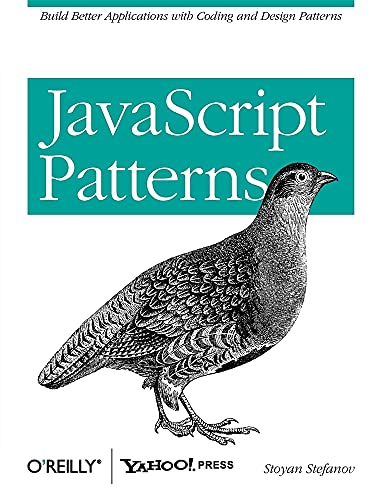 JavaScript Patterns By Stoyan Stefanov