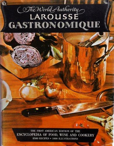 Larousse Gastronomique By Prosper Montagne