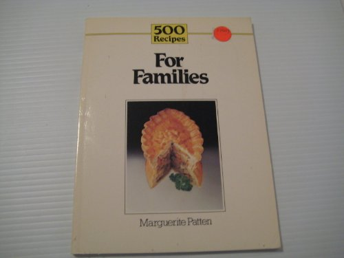 For Families By Marguerite Patten, OBE