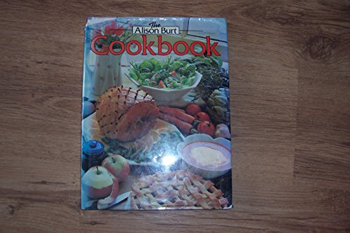 Cook Book By Alison Burt