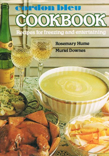Cordon Bleu Cook Book By Rosemary Hume