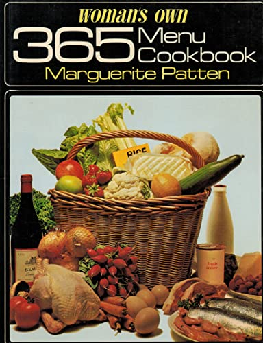 """Woman's Own"" 365 Menus Cook Book By Marguerite Patten"