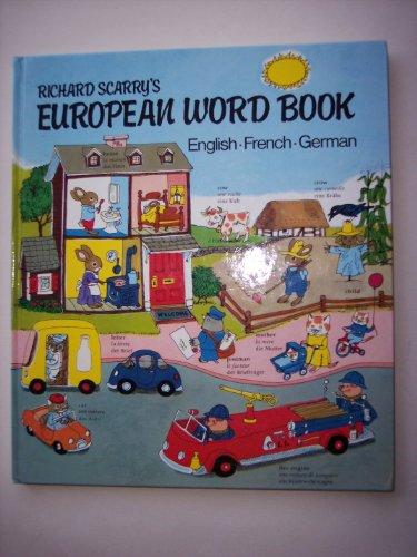 Richard Scarry's European Word Book von Richard Scarry