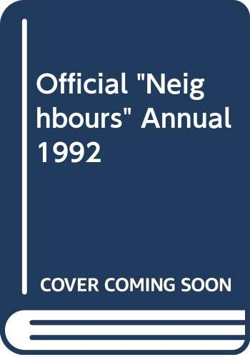 "Official ""Neighbours"" Annual 1992 By Ian Morrison"