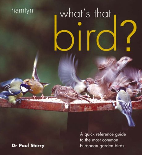 What's That Bird? By Paul Sterry