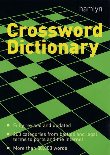 New Hamlyn Crossword Dictionary By Edited by J.M. Bailie