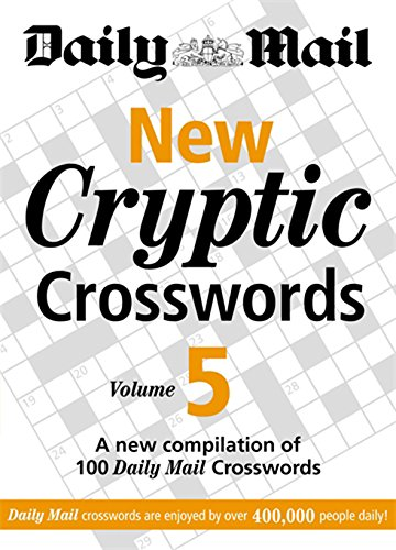 Daily Mail: New Cryptic Crosswords 5 By Daily  Mail
