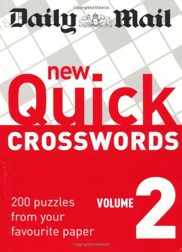 Daily Mail: New Quick Crosswords 2 By Daily Mail