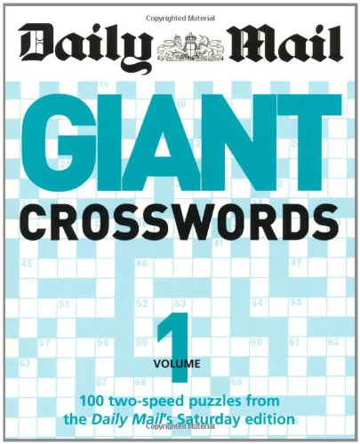 Giant Crossword Vol  1 By Daily Mail