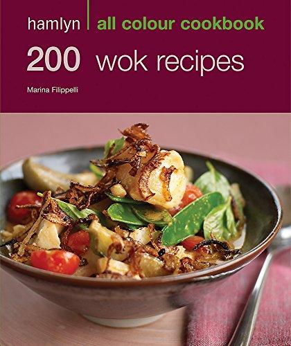 Hamlyn All Colour Cookery: 200 Wok Recipes By Marina Filippelli