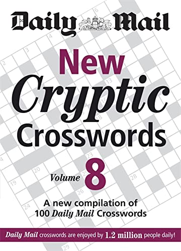 New Cryptic Crosswords - Vol. 8 By Daily Mail