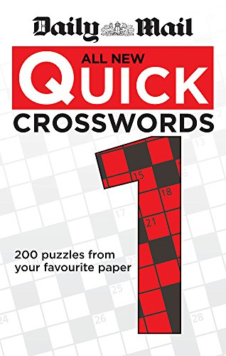 Daily Mail: All New Quick Crosswords 1 By Daily Mail