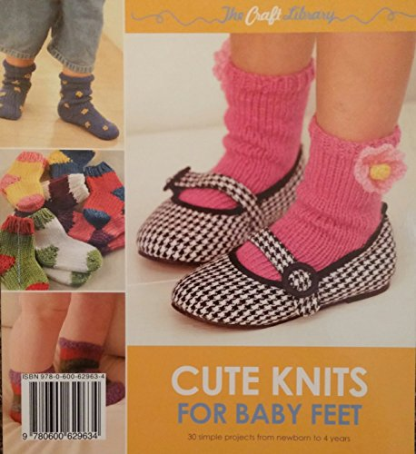 The Craft Library: Cute Knits For Baby Feet By Sue Whiting