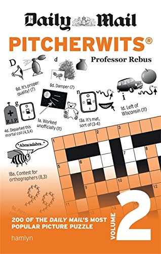 Daily Mail Pitcherwits – Volume 2 (The Daily Mail Puzzle Books) By Anna Rebus
