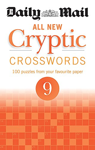 Daily Mail All New Cryptic Crosswords 9 (The Daily Mail Puzzle Books) By Daily Mail