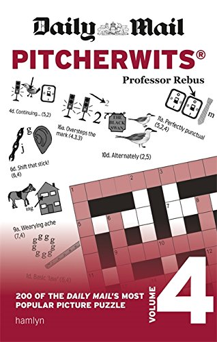Daily Mail Pitcherwits – Volume 4 (The Daily Mail Puzzle Books) By Professor Rebus