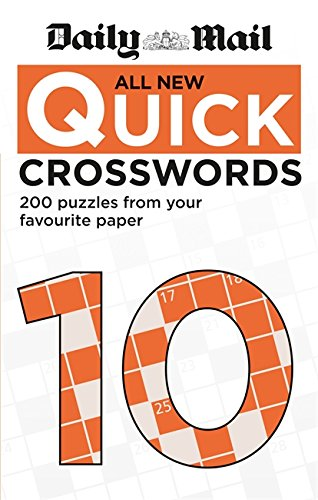 Daily Mail All New Quick Crosswords 10 By Daily Mail