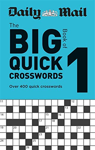 Daily Mail Big Book of Quick Crosswords Volume 1 By Daily Mail