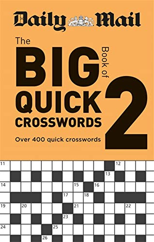 Daily Mail Big Book of Quick Crosswords Volume 2 By Daily Mail