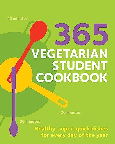 365 Vegetarian Student Cookbook By Sunil Vijayakar