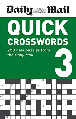 Daily Mail Quick Crosswords Volume 3 By Daily Mail