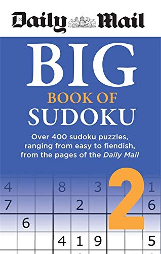 Daily Mail Big Book of Sudoku Volume 2 By Daily Mail