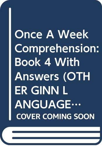 Once A Week Comprehension: Book 4 With Answers By Haydn Perry
