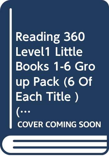 Reading 360 Level1 Little Books 1-6 Group Pack (6 Of Each Title )