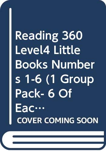 Reading 360 Level4 Little Books Numbers 1-6 (1 Group Pack- 6 Of Each Title )