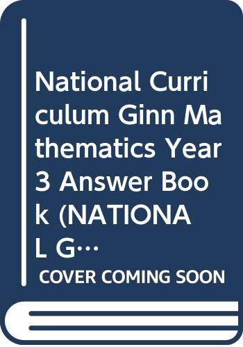 National Curriculum Ginn Mathematics Year 3 Answer Book